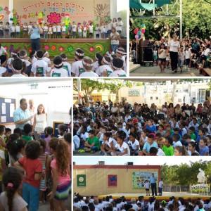 דוקורסקי היום בפתיחת שנת הלימודים. ראש העיר לא שכח את הילד איצן שטבע למוות בטורקיה