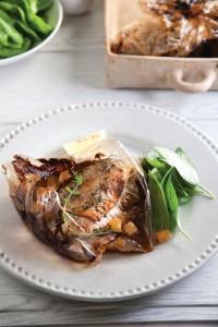 פילה דג בשקית קוקי- צילום:  דניאל לילה