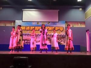 בני העדה האתיופית היו שותפים מלאים לאירוע והציגו בגאווה את מנהגי העדה. צילום: עיריית ק. ביאליק