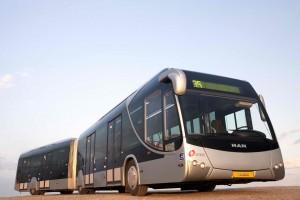 """""""קו המטרו-נשר מהווה אבן דרך נוספת במערך התחבורה הציבורית במטרופולין חיפה והצפון"""". צילום: רונן טופלברג"""