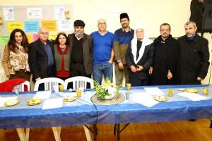"""כל נציגי הדתות בחיפה דיברו על חיים בסימן """"ואהבת לרעך כמוך"""". צילום: דנה כהן"""