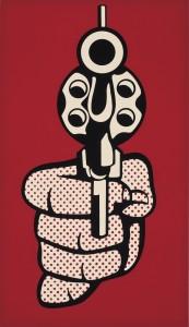 רוי ליכטנשטיין Wall Hanging, 1965-1964 לבד אוסף מוזיאון ישראל, ירושלים