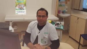"""ד""""ר גואד חלאילה. הציל את חיי התינוק על ידי איבחון מדויק. צילום: כללית"""