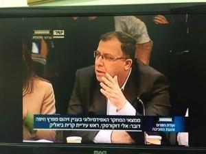 דוקורסקי בישיבת ועדת הפנים והגנת הסביבה של הכנסת. דורש לבדוק את נתוני האמת על התחלואה באזור חיפה והקריות