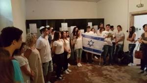 """חברי המשלחת. """"לחילופי הנוער בין ישראל לגרמניה יש חשיבות מיוחדת, ליצירת עתיד משותף מבלי לשכוח את העבר"""""""