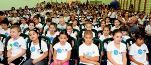 """""""אנו בשיאו של תהליך, שמפתח ייחודיות בכל אחד מבתי הספר היסודיים והעל יסודיים"""". צילום: דוברות עיריית חיפה"""