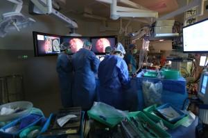"""חדר ניתוח מתקדם ועתידני ברמב""""ם. צילום: פיוטר פליטר"""