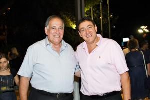 ראש העיר חיפה יונה יהב יחד עם גיל חיימוביץ מנהל המחוז מכבד את האירוע צילום :ראובן כהן