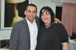 יואל חסון ותמי ברק. צילום: איציק גולדשטיין