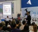 משיקים בבית הספר תל חי תכנית ייחודית בטקס מרגש. מנהל בית הספר, גיא הולצמן. אלבום פרטי.