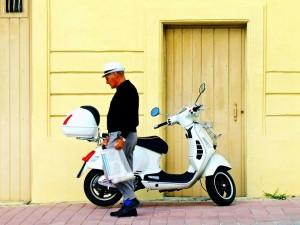 מבחינת חיסכון בזמן, קטנוע הוא ככל הנראה הרכב האידיאלי עבור תושבי חיפה והקריות. צילום: אילוסטרציה