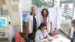 הפעילות המרוכזת במהלך שבוע הפיזיותרפיה העולמי נערכה בנוסף על עשרות סדנאות שנערכות במרפאות כללית במחוז חיפה וגליל מערבי. צילום: כללית