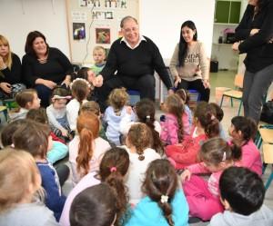 הגן יפעל במתכונת של יום לימודים ארוך כולל ארוחה חמה, פעילות העשרה וחוגים. צילום: עיריית חיפה