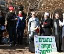 נאמרה תפילת בקשה לחיזוק הקיום המשותף הבין -דתי בעיר, והבטחה לפעול יחד באהבה ובשיתוף. צילום: ליאו באק