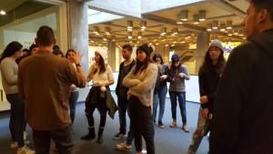 במסגרת הסיור ביקרו התלמידים בתערוכה שעוסקת בצורה מרתקת בנושא הזיוף של יצירות אומנות