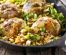 Roasted Chicken in a Skillet.