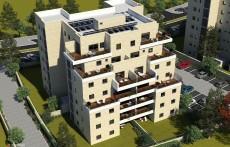 """החברה תקים 5 בניינים בבנייה מדורגת, בני 8 – 7 קומות, בכל בניין 26 דירות. צילום יח""""צ"""