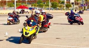 """אופנועי החירום והעזרה ראשונה של מד""""א מוזנקים לאירועים במקביל לצוותי האמבולנס וניידות הטיפול נמרץ. צילום: מד""""א"""