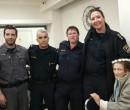 מרים אהרון חוגגת 90 עם צוות השיטור העירוני (2)_opt