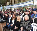 טקס יום השואה הבינלאומי. תמונה: עמותת יד עזר לחבר