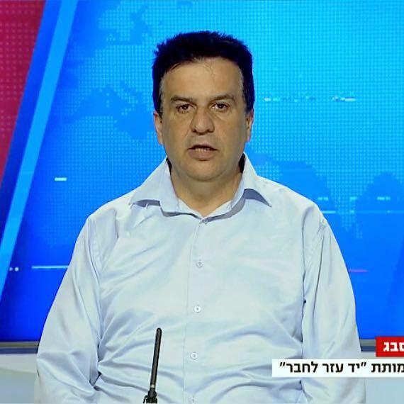 שמעון סבג, ראש עמותת יד עזר לחבר.