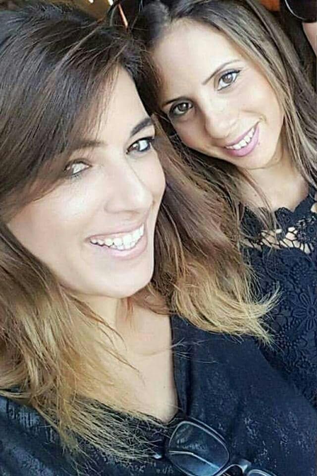 """ענבל איפרגן עם גיסתה ז""""ל. צילום מתוך פייסבוק"""