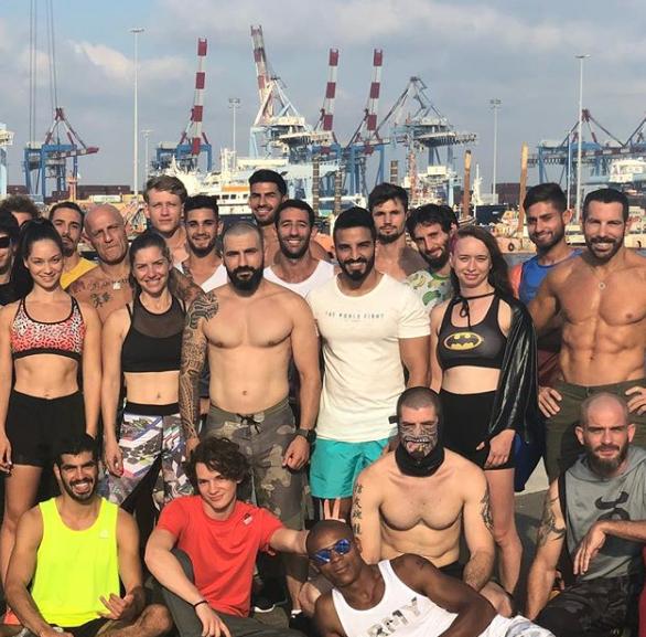 תמונה מתוך אינסטגרים נינג'ה ישראל 2018.