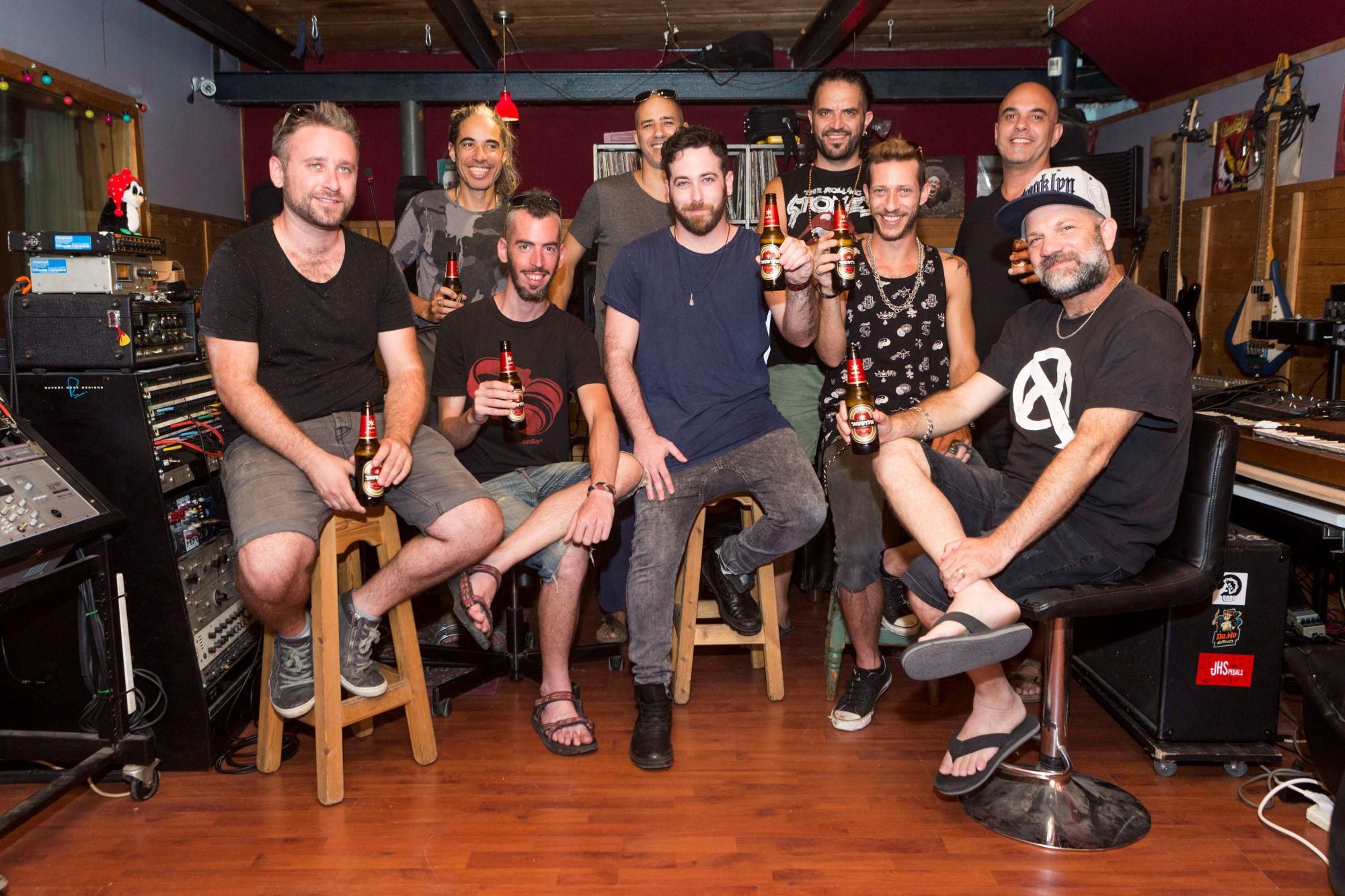 להקת הדג נחש ולהקת רנדום דוגס. תמונה: ליאור גולדסאד