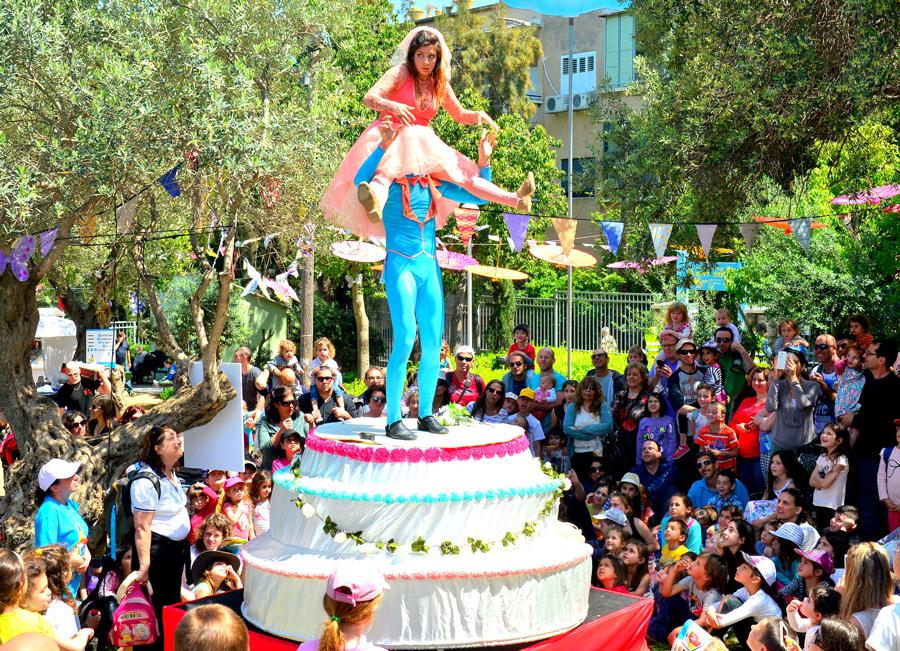 חגיגה להורים ולילדים. תמונה: יחסי ציבור