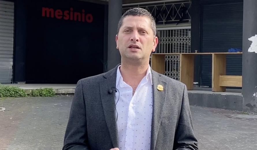 ראש עיריית נשר רועי לוי. צילום מתוך סרטון דוברות עיריית נשר