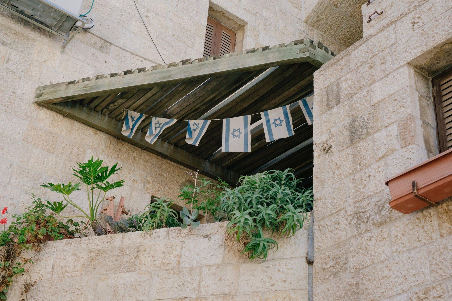 דגל ישראל.