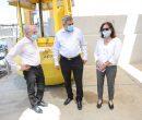 (מימין): פרופ' אילנה ברמן, ראש בית הספר למדעי הים של אוניברסיטת חיפה, השר זאב אלקין, נשיא האוניברסיטה פרופ' רון רובין. קרדיט צילום: שי אופק