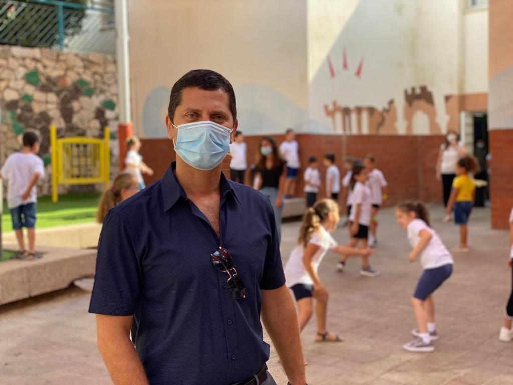 רועי לוי ראש העיר נשר. תמונה: דוברות העיר נשר
